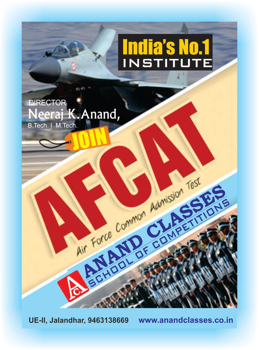 AFCAT coaching center in Jalandhar Neeraj Anand Classes